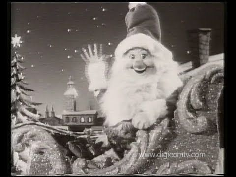Christmas Animation - Vintage TV Commercial