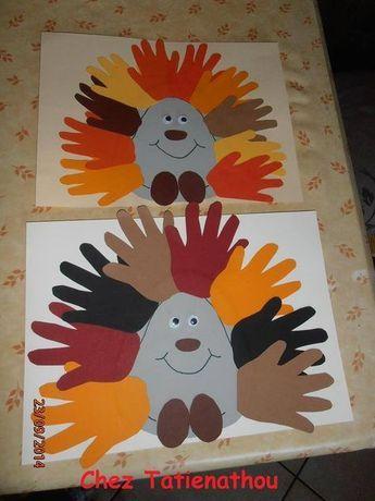 child's hand and hedgehog | Education-Enfance.fr