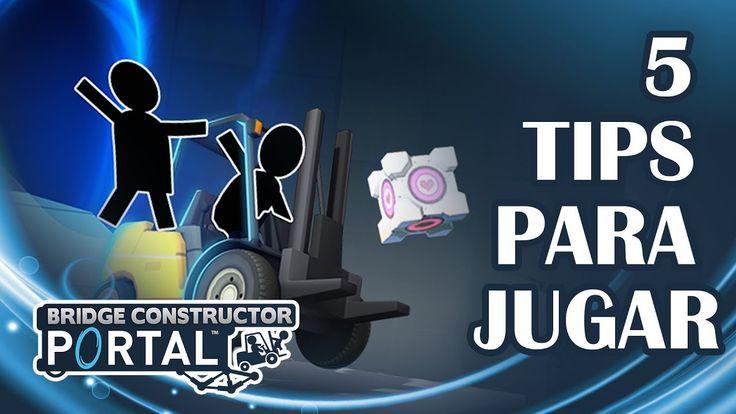5 Tips para Jugar Bridge Constructor Portal (Gameplay en Español) https://youtu.be/3LpfdIMJthI