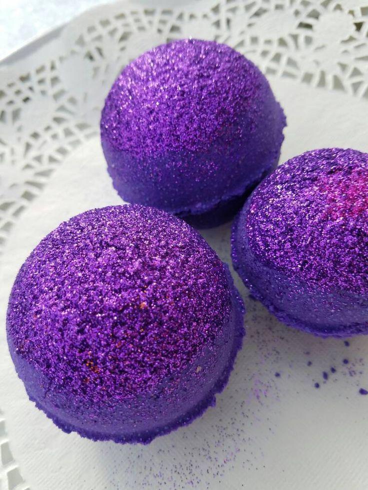 Purple Beauty Bath Bombs. Purple Bath Fizzies. Purple Bath Bombs. Purple Sparkle Bath Water. Gifts Under Ten. Aromatherapy. Purple. by LaBonitaPetra on Etsy