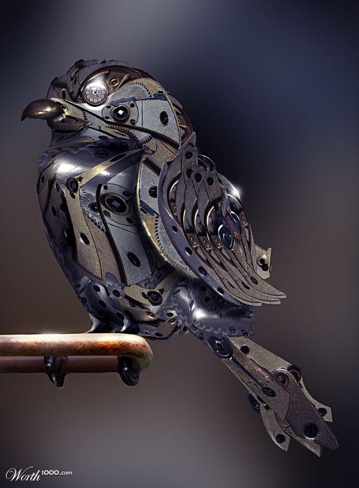 mechanical birdy