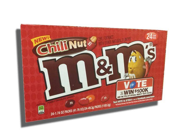 Chili Nut M&M's 24 ct box