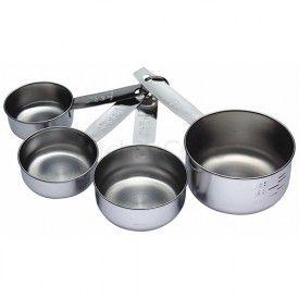 Set van 4 maatbekers / maatcups van KitchenCraft