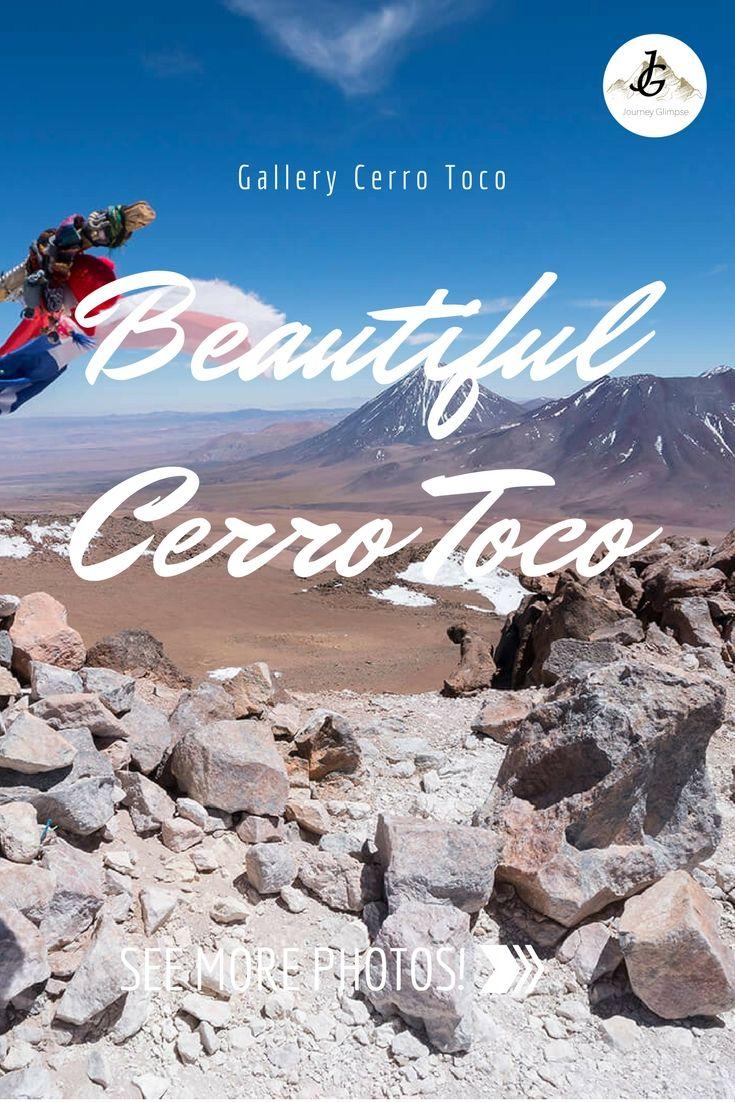 Der Vulkan Cerro Toco in Chile ist 5604 Meter hoch. Ein wunderbarer Ort, auch um zu fotografieren.Wir haben eine Foto-Galerie zusammengestellt.