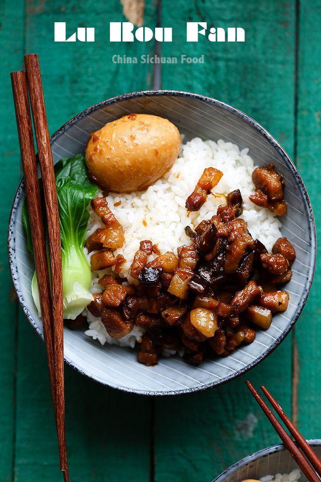 Lu Rou Fan-Braised Pork Rice – China Sichuan Food