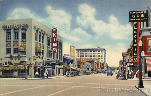 Central Ave Looking East Albuquerque Nm In 2020 Albequerque