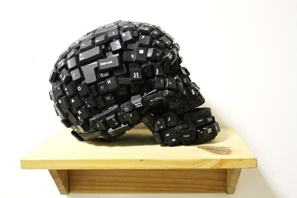Skull keyboard