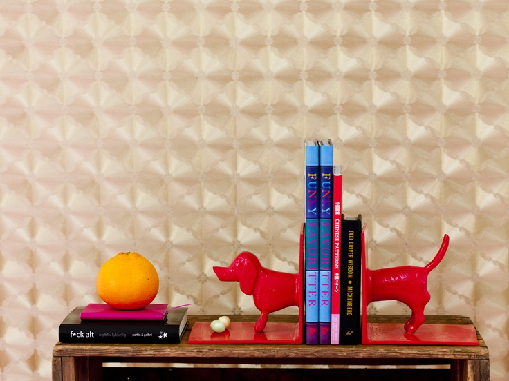 Dachshund Book ends from RICE
