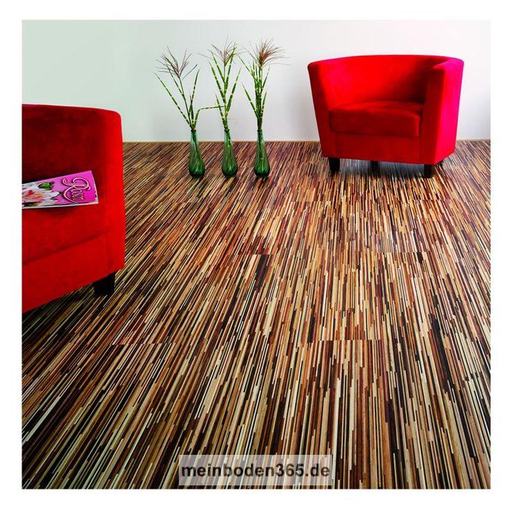 Fineline Bunt ist ein 3-Schicht Fertigparkett mit einer sehr modernen Fine Line Optik. Für das Dekor Bunt werden bis zu 9 Holzarten gemischt. Die Oberfläche ist uv-geölt. Die Designdiele verfügt über eine Nutzschicht von 3,4 mm. Durch das Klicksystem kann dieser Boden sowohl schwimmend auf einer Trittschalldämmung, als auch vollflächig verklebt verlegt werden. Die Dielen sind für die Verlegung auf einer Fußbodenheizung geeignet. http://meinboden365.de/Parkett-Fine-Line-Bunt-Diele-Designdiele