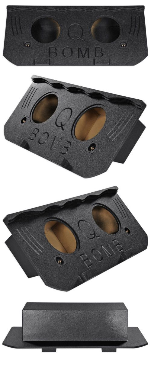 Speaker Sub Enclosures: 2002-2013 Chevy Avalanche, Cadillac Escalade Ext Dual 12 Sealed Subwoofer Box -> BUY IT NOW ONLY: $189.99 on eBay!