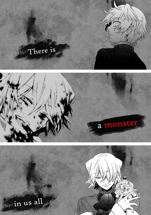 Pandora Hearts - There is a monster in all of us