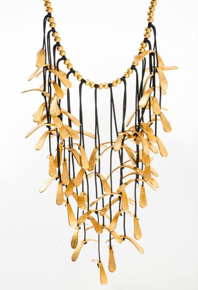 copyright Akiss Paraskevopoulos, 'Floating Elements' collection Cascading necklace by Daphne Valente