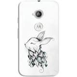 Phone Case: (Motorola Moto E 2nd Generation) Poetic Rabbit | DailyObjects