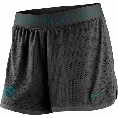 Women's Philadelphia Eagles Nike Black Ultimate Mesh Shorts ...