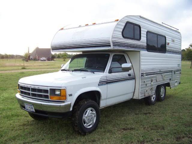 Dodge Dakota Truck Camper