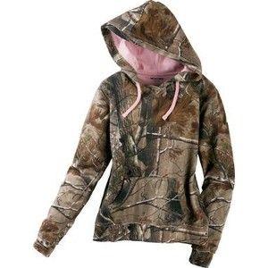 Realtree Women's Camo Fleece Hoodie