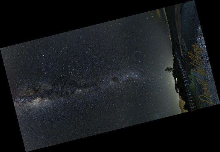 Milky Way over Paekakariki