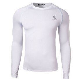 Newest Fitness Men Body Building Gym Compression Shirt - Long Sleeve