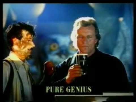 Weird Guinness advert by Ogilvy & Mather - starring Rutger Hauer - YouTube