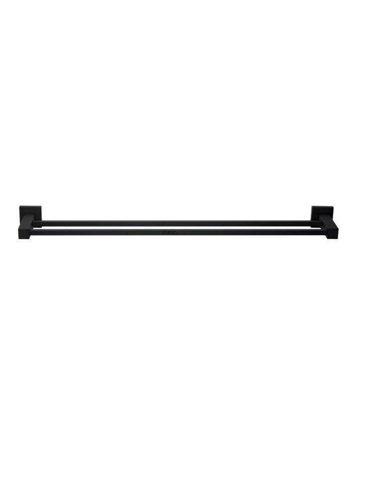 Matte Black Towel Rail   Meir - The black tapware specialists