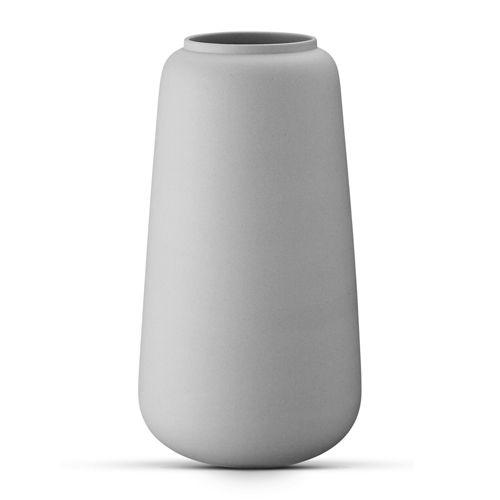 Ditte Fischer's klassiske høj vase, grå.