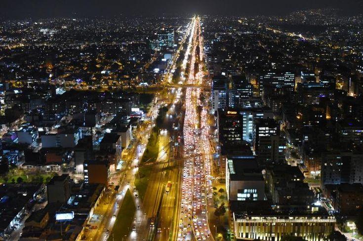 trancon avenida norte Bogotá