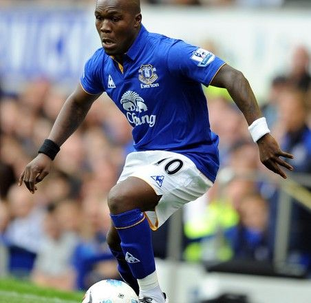 Royston Drenthe of Everton
