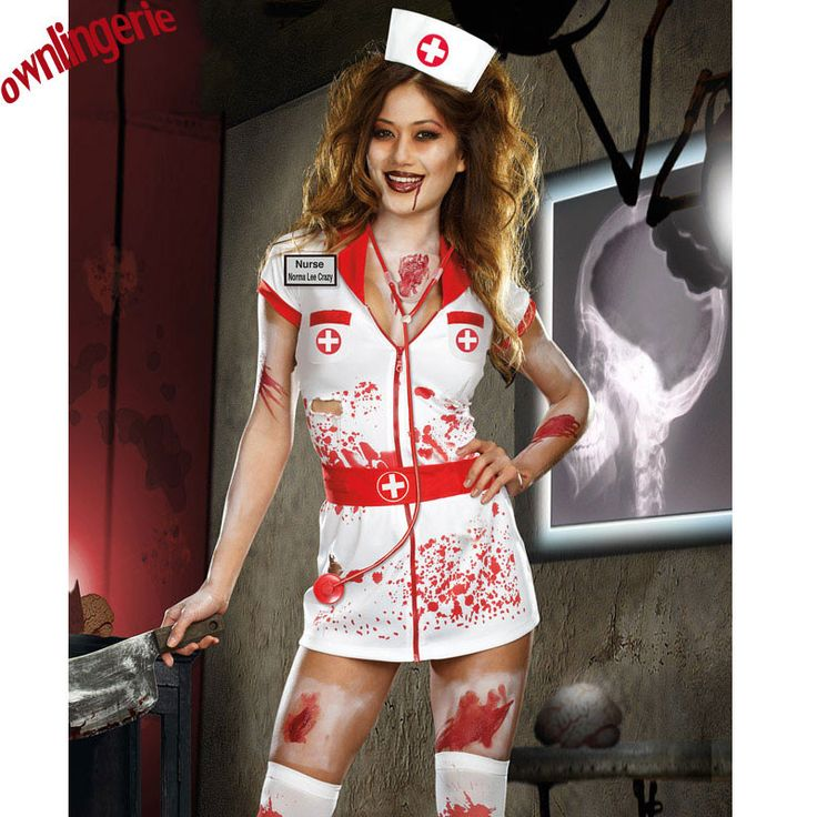 adult halloween scary zombie nurse costume women sexy scary nurse fancy dress halloween party cosplay spooky