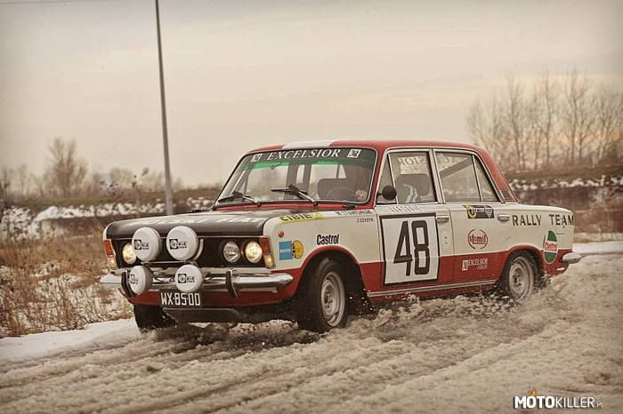 Fiat 125p Monte Carlo Fiat Fiat Motosport Rally Car