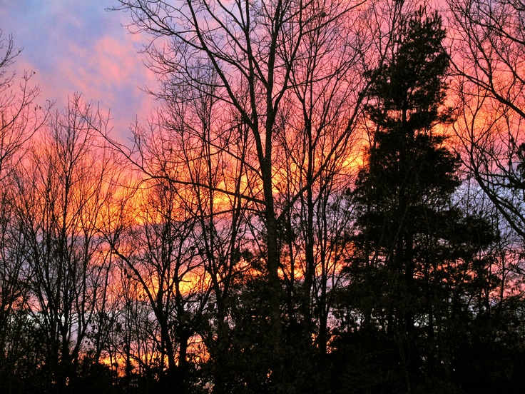 Exeter, RI Sunset