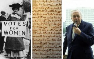 Universal suffrage, the Magna Carta and harold Wilson