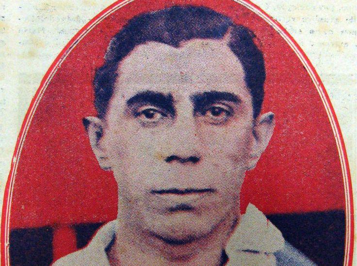 Heitor estreou pelo clube há exatos 100 anos, é o maior artilheiro da história do Palmeiras, com 327 gols em 358 jogos (Foto: Acervo/Gazeta Press)