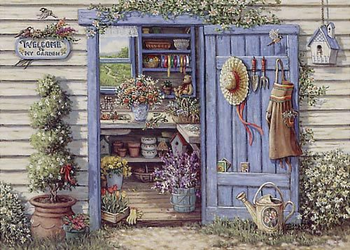 27 best images about i want to paint my shed on pinterest for Best paint for yard art