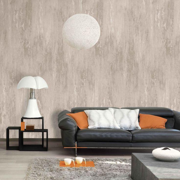 Décor mural panoramique oxyde style bois http www deco et