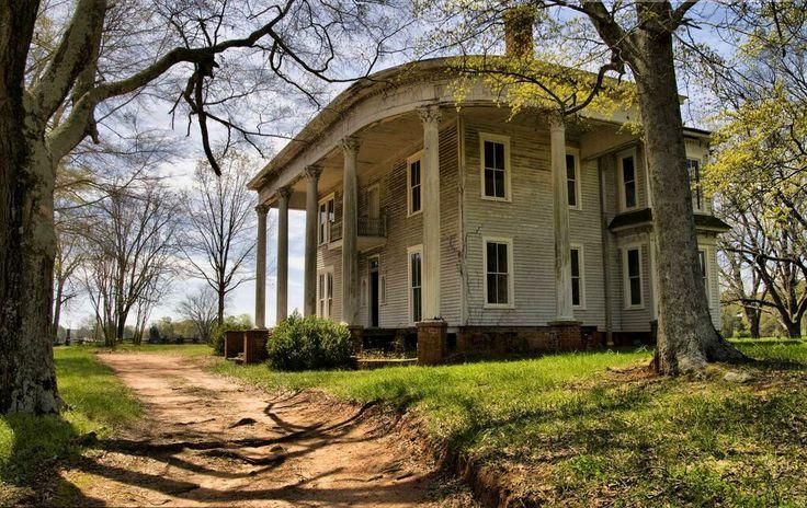 Abandoned Cotton Plantation in Bostwick, Georgia.
