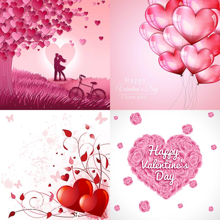 18 best Valentine Free download Valentine vector templates - love templates free