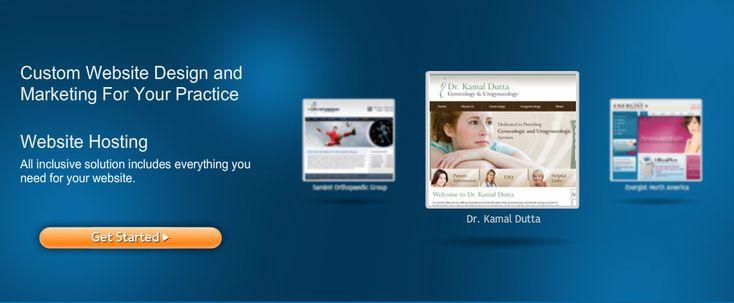 Custom medical website design and marketing for physicians. #webdesign www.physiciandesigns.com