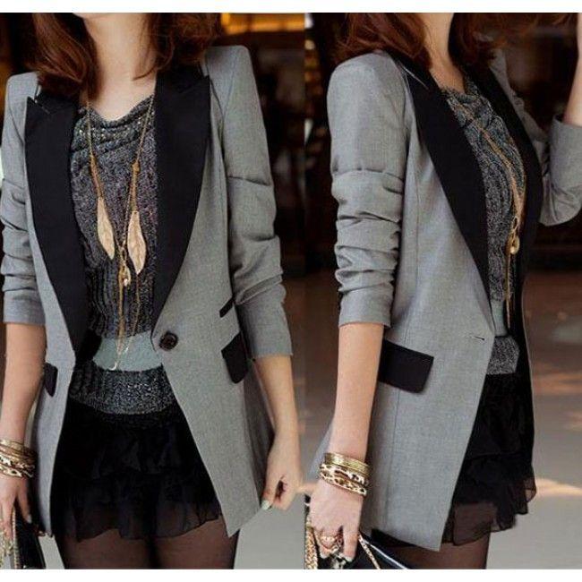 Best 25  Long suit jacket ideas on Pinterest | Long jacket dresses ...