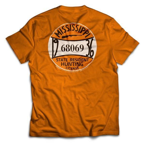 1936 MS Hunting License T-Shirt