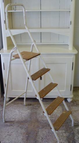 Oude schilders trap houten ladder pinterest ladder en lijstjes - Hout deco trap ...