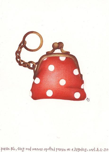 little red by andrea joseph's illustrations, via Flickr