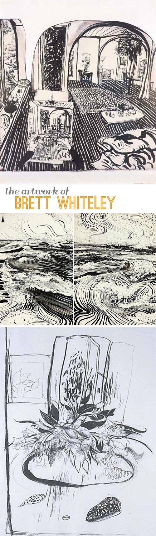 Artist Showcase: Brett Whiteley – bold lines make great drawings | Beautiful Hello