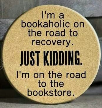 My car does auto pilot to the Dusty Bookshelf!!