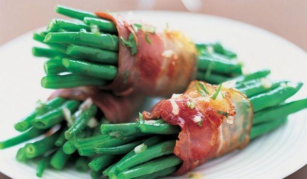 fagots de haricots verts bacon