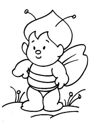 Insects coloring page 5