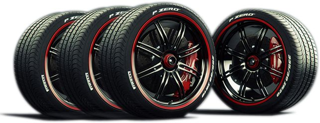 Pirelli Tires and Wheels
