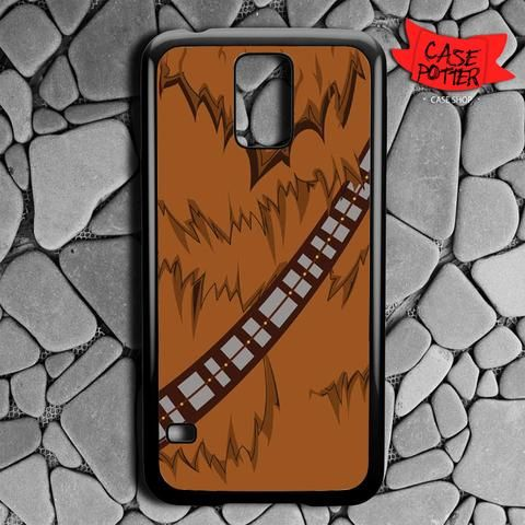 Brown Body Chewbacca Star Wars Samsung Galaxy S5 Black Case