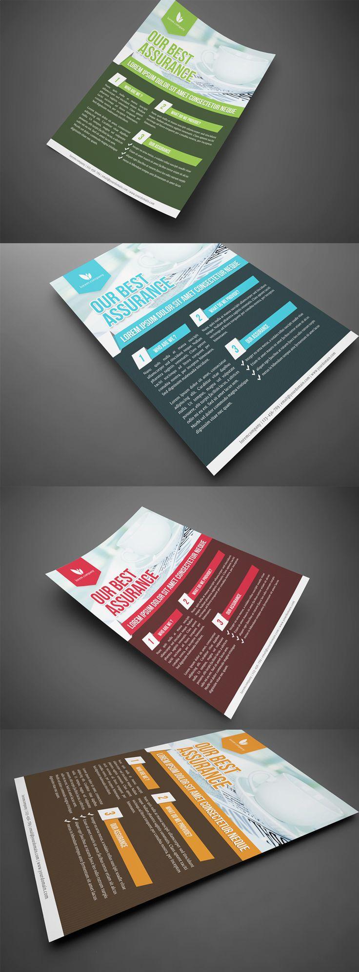 6 poster design photo mockups 57079 - Flyer Design Inspiration Simple Professional Corporate Flyer