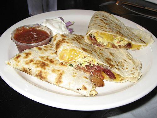 Comida mexicana: quesadillas! yummy