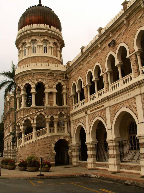 """Sultan Abdul Samad"" Building - Kuala Lumpur Sehenswürdigkeiten #Malaysia"
